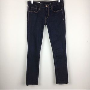 Gap 1969 Always Skinny Dark Wash/Rinse Jeans 26S